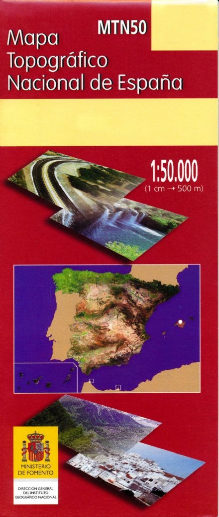 Formentera (Formentera) CNIG 824/825/849 Topo Map at 1:50,000